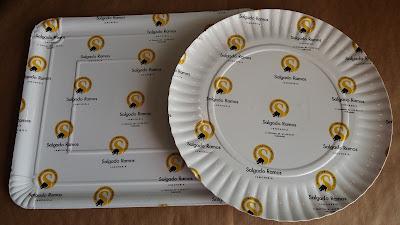 bandejas y platos personalizados cartón plastificado mate o brillo