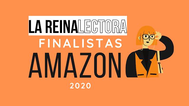 Amazon anuncia los escritores finalistas del Premio literario 2020 en español.