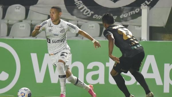 Vozão perde para Santos na Vila Belmiro pela Série A
