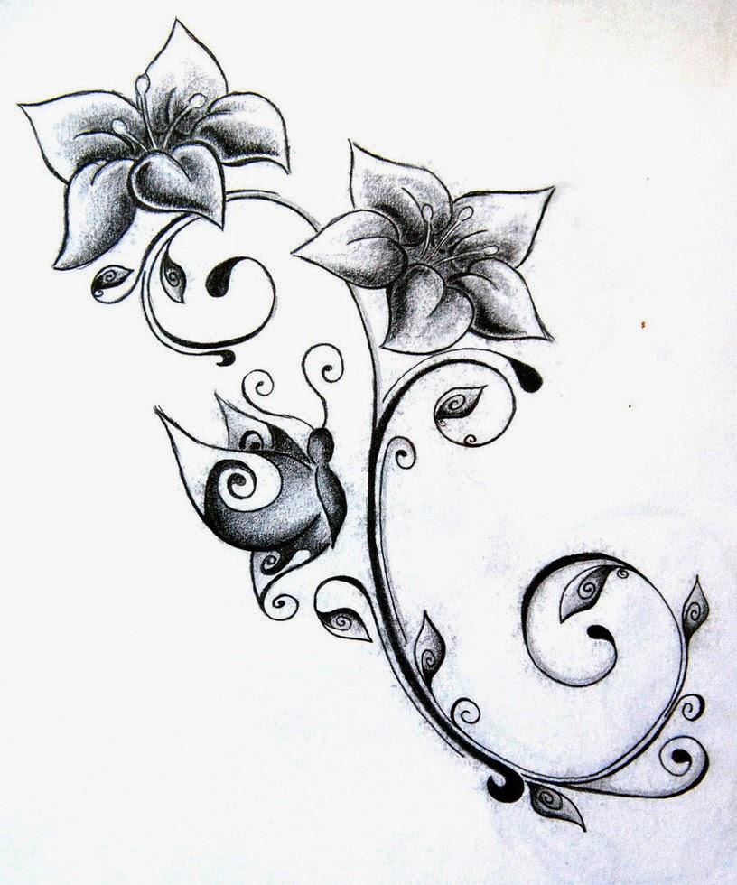 Tatuajes Para Mujeres Flores Parte 6 Imágenes Para Whatsapp Y