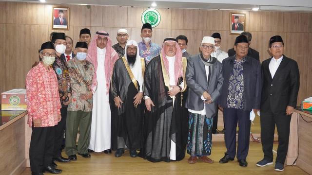 Bertemu Dubes Saudi, Sekjen MUI: Belum Ada Kepastian Pemberangkatan Haji 2021