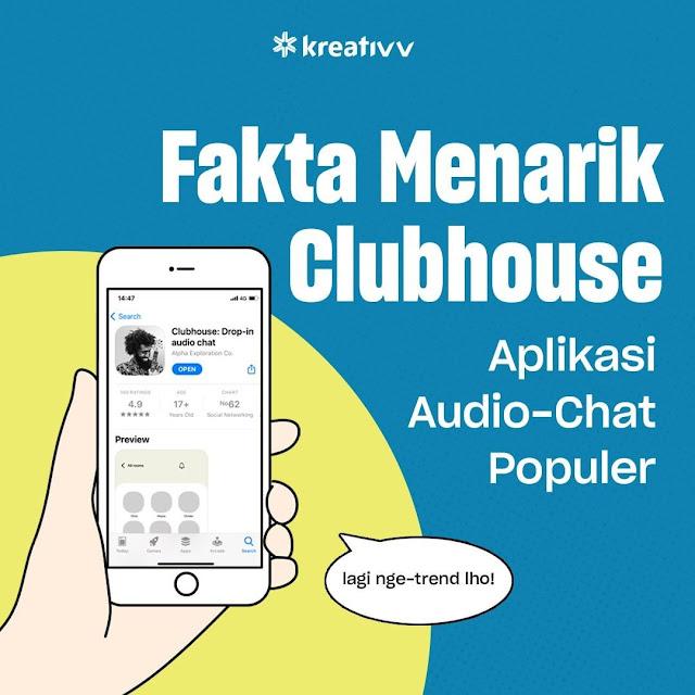 Fakta Menarik Clubhouse Aplikasi Audio-Chat Populer