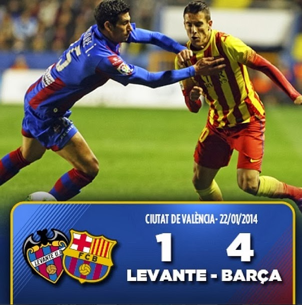 Fc Barcelona Wallpapers Against Levante CDR 2014