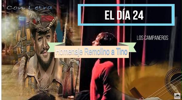 """✨Pasodoble homeaje Kike remolino a constantino Tovar  """"El día 24. """"Los Campaneros"""" con Letra (2018)"""