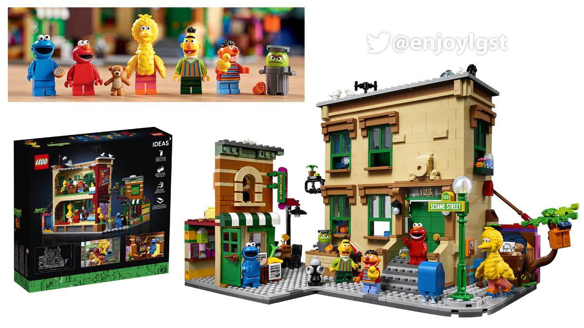 11/1(日)発売!21324 セサミストリート:レゴ(LEGO) アイデア:製品・価格情報