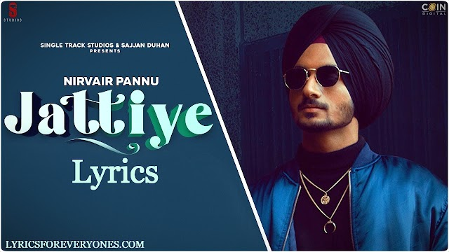 Jattiye Lyrics