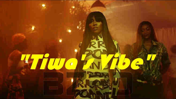 Fans in love with Tiwa's Vibe. new video released by Tiwa Savage