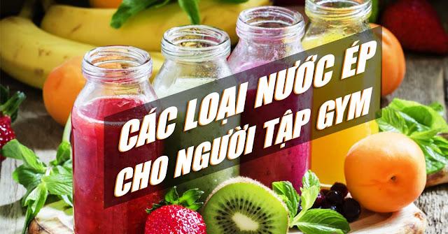 nuoc ep cho nguoi tap gym