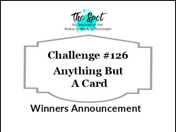 Challenge Winners Announced for #126