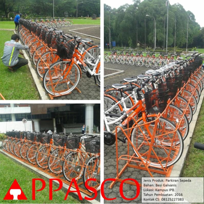 Parkiran Sepeda Kampus IPB Bogor