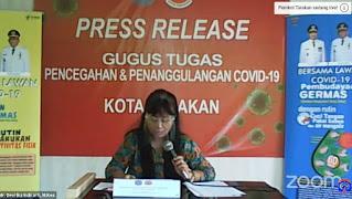 Press Release COVID-19 Tarakan 9 Juli 2020 - Tarakan Info