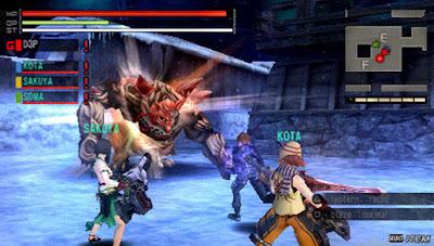 Game PSP RPG Gods Eater Burst
