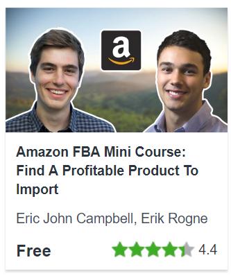 Amazon FBA Mini Course: Find A Profitable Product To Import