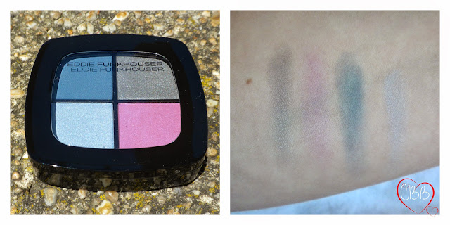 EDDIE FUNKHOUSER Hyperreal Eye Color Palette in Girls on Film Swatches