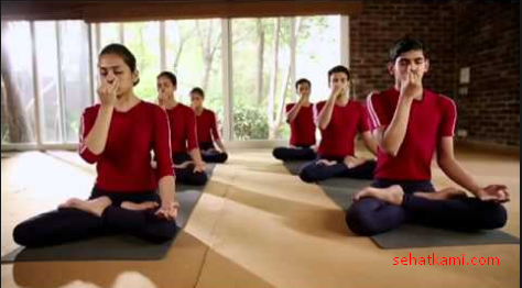yoga untuk menyembuhkan batuk