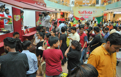 Saffola Masala Oats Food Truck Challenge in Gurgaon
