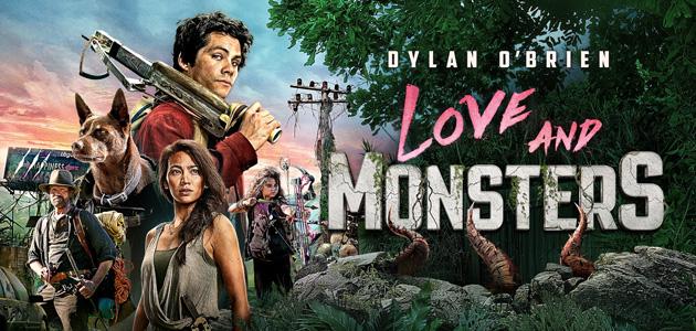 Capa do filme Amor e Monstros