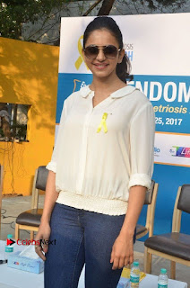 Actress Rakul Preet Singh at Endometriosis Awareness Walk at Apollo Cradle  0028.jpg