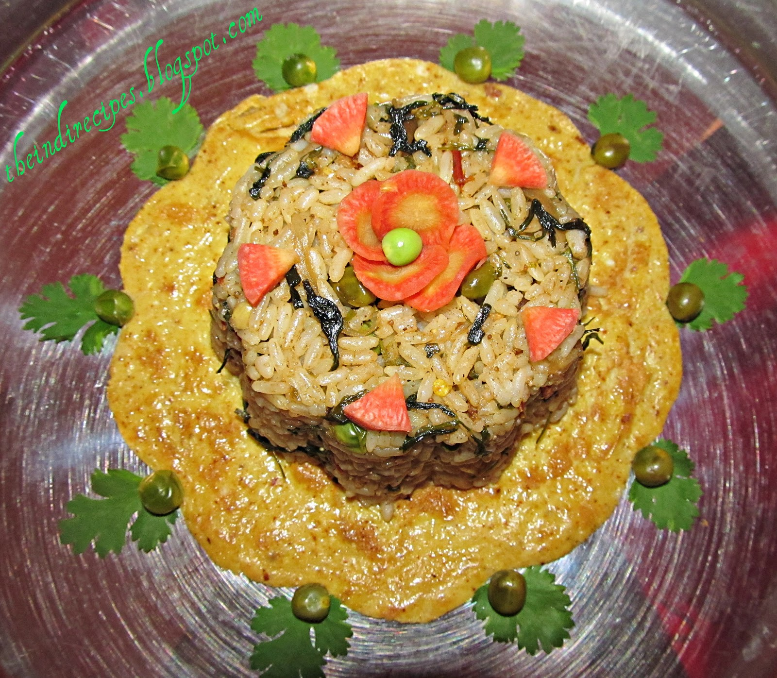 Five Easy Healthy Flavorful Indian Recipes: Tasty Healthy Easy Indian Recipes: Methi Mutter Pulao