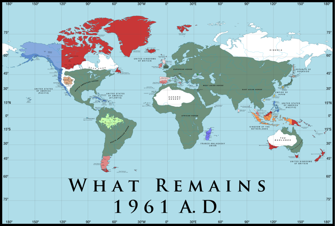 Alternate History Maps Alternate History Weekly Update: Map Monday: What Remains, Part 2