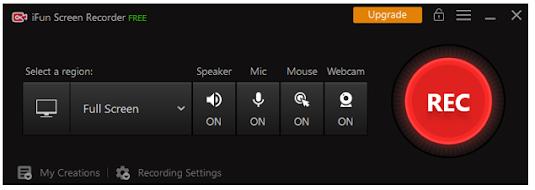 IOBit iFun Screen Recorder: One of the Best Free Screen Recorders