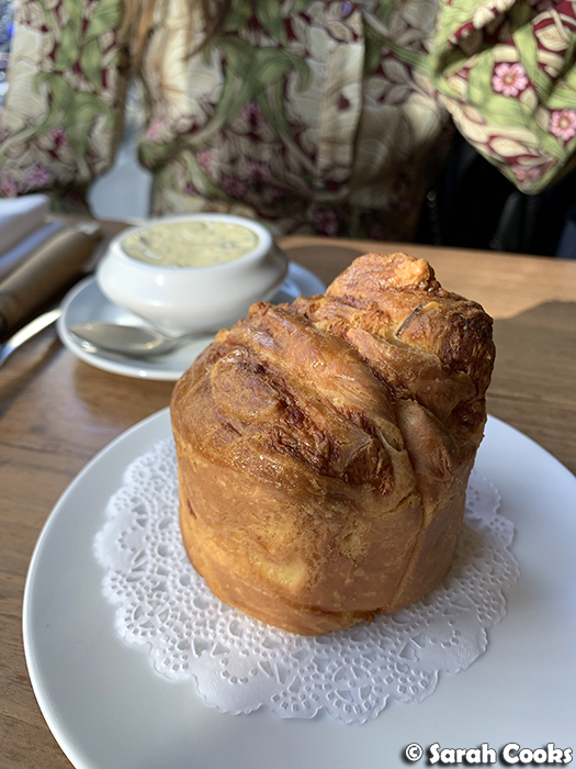 Comté Brioche with Sage Butter, Le Servan
