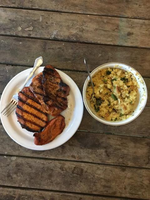 Mesquite Grilled Pork Chops