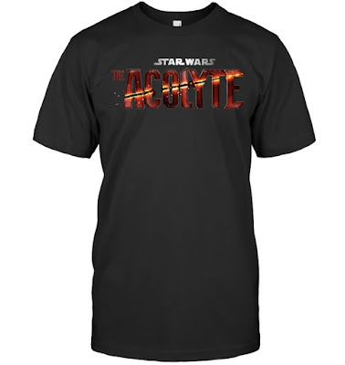 Star Wars The Acolyte Logo T Shirts