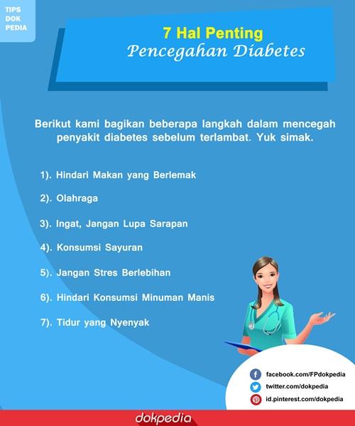 pencegahan diabetes - dokpedia