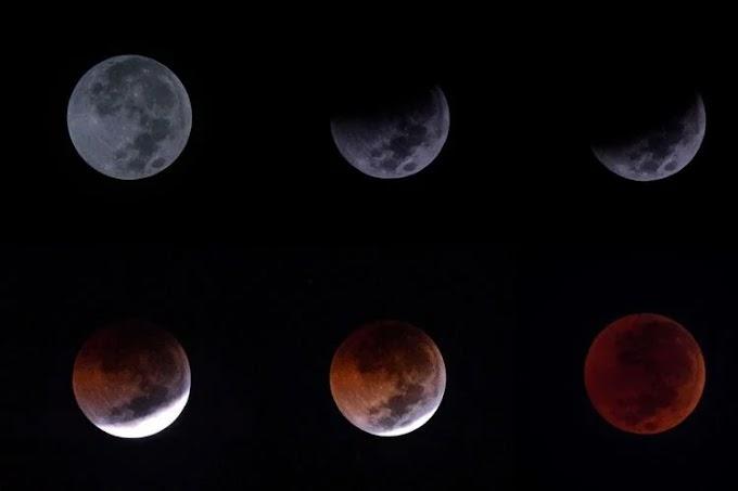 Fenomena Blood Moon Hingga Fenomena GBT 2018 dan Gempa Bumi Lombok. Apa Kaitannya?