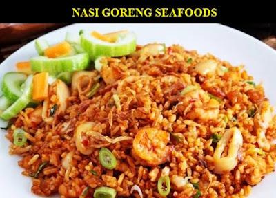RESEP dan CARA MEMBUAT NASI GORENG SEAFOOD