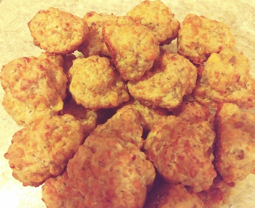 Sausage Cheese Ball Appetizes