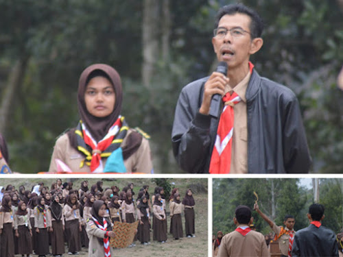 Camping Dasar Pendidikan SMAN 1 Banjaran