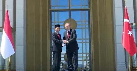 Presiden Jokowi Unggah Vlog Bersama Presiden Turki, Erdoğan: Saya Bersama Saudaraku, Pak Widodo