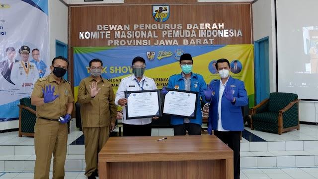 Jalin Kerjasama, KNPI Jabar dan BNN Provinsi Jabar Sepakat Cegah dan Berantas Narkoba