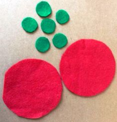 lingkaran besar dan kecil kain panel