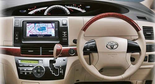 Toyota Previa White Redesign 2016