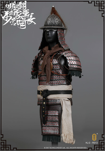 osw.zone Check out this Kongling Pavilion 1/6 scale Ming Dynasty series Qi troupe 12 inch military figure