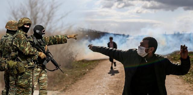 Έβρος: Με κουκούλες και γάντια προσπαθούν να ρίξουν το φράχτη