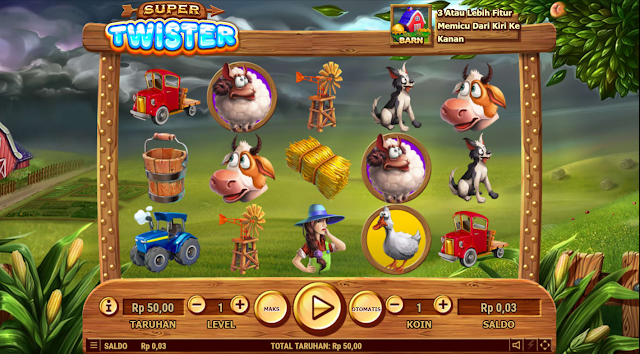SITUS AGEN SLOT SUPER TWISTER GAMES HABANERO