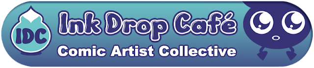 Ink Drop Cafe, comic collective, webcomic collective, artist community, comic community