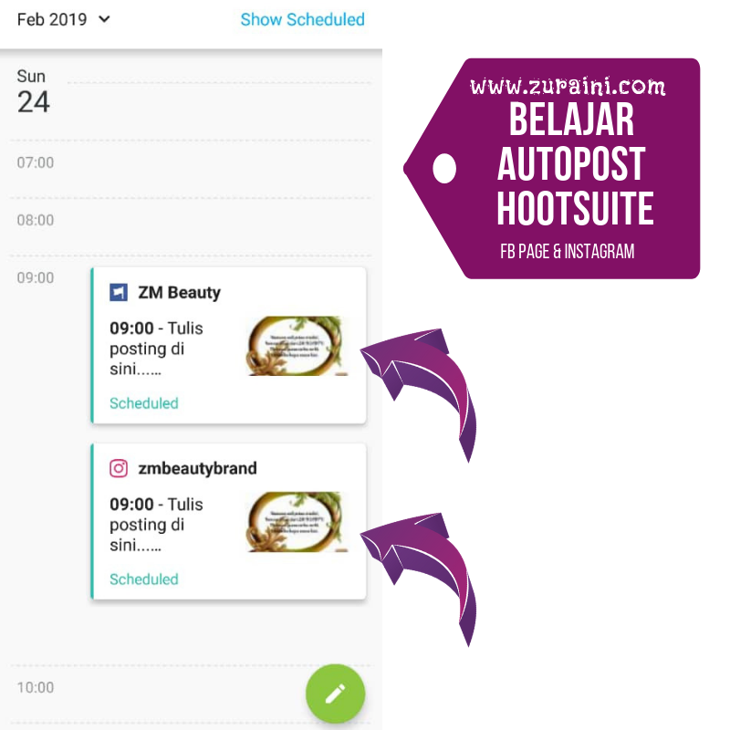 TUTORIAL AUTO POST HOOTSUITE - PART 2