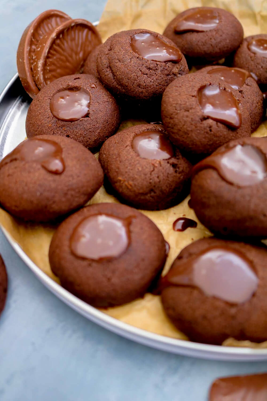 Chocolate Orange Thumbprint Cookies | Take Some Whisks