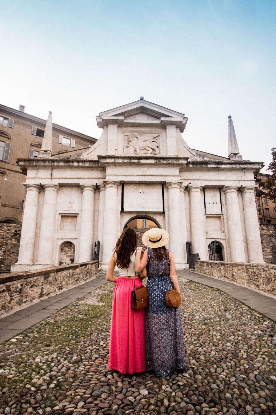 voyager entre ami en Italie