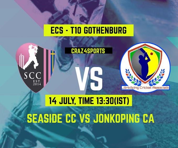 SSD VS JKP Dream11 prediction, Seaside CC VS Jonkoping CA, Dream11 ECS T10 Gothenburg, Top picks, Players stats, Pitch Report, Dream Team