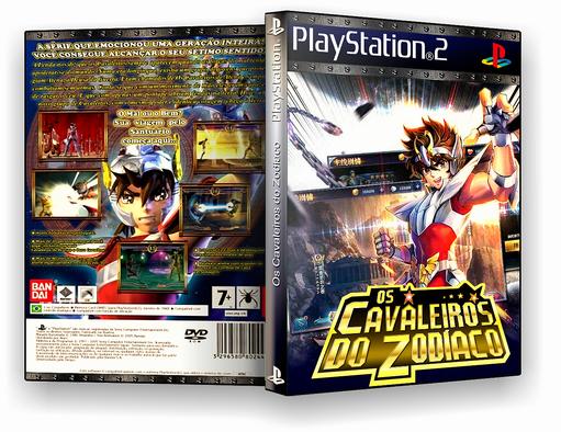 PS2 – Cavaleiros do Zodiaco – ISO