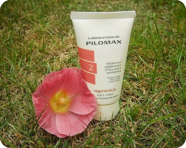 Pilomax - regeneracja krok 2 (maska do włosów farbowanych jasnych)