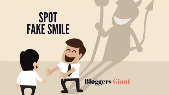 How to spot a fake smile Fake Nice People