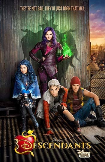 Descendants 2015 Dual Audio Hindi 720p HDRip 990MB