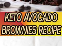 Keto Avocado Brownies Recipe